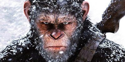 Planet of the Apes | Cesar interrupts winter Klan rally, er, military celebration | 20th Century Fox