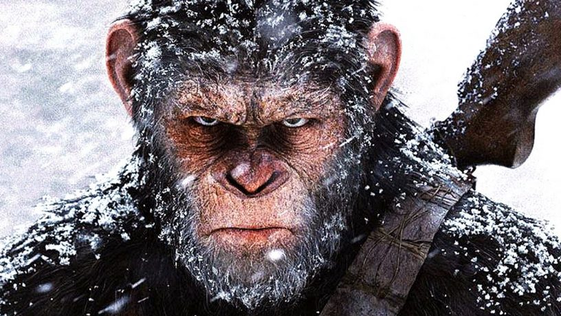 Planet of the Apes   Cesar interrupts winter Klan rally, er, military celebration   20th Century Fox