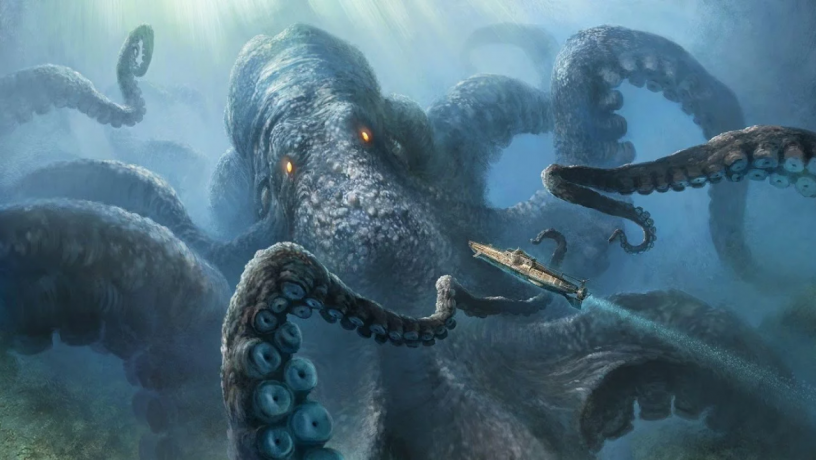 Kraken Courtesy of Bits Online