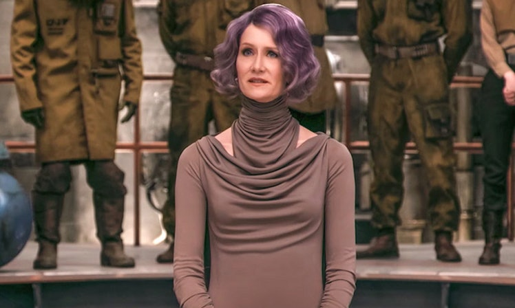 Camo for Canto: Vice Admiral Holdo Stands Out | Courtesy of TBD