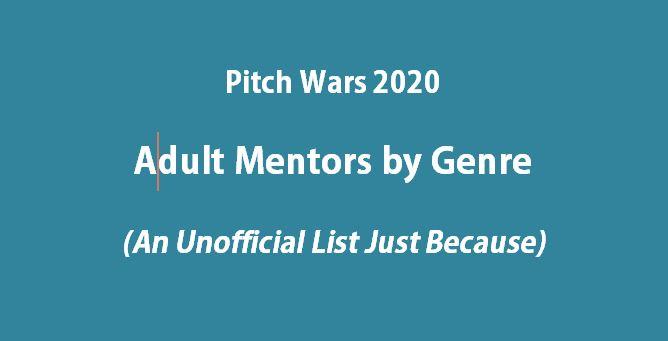 PitchWars2020-Genres